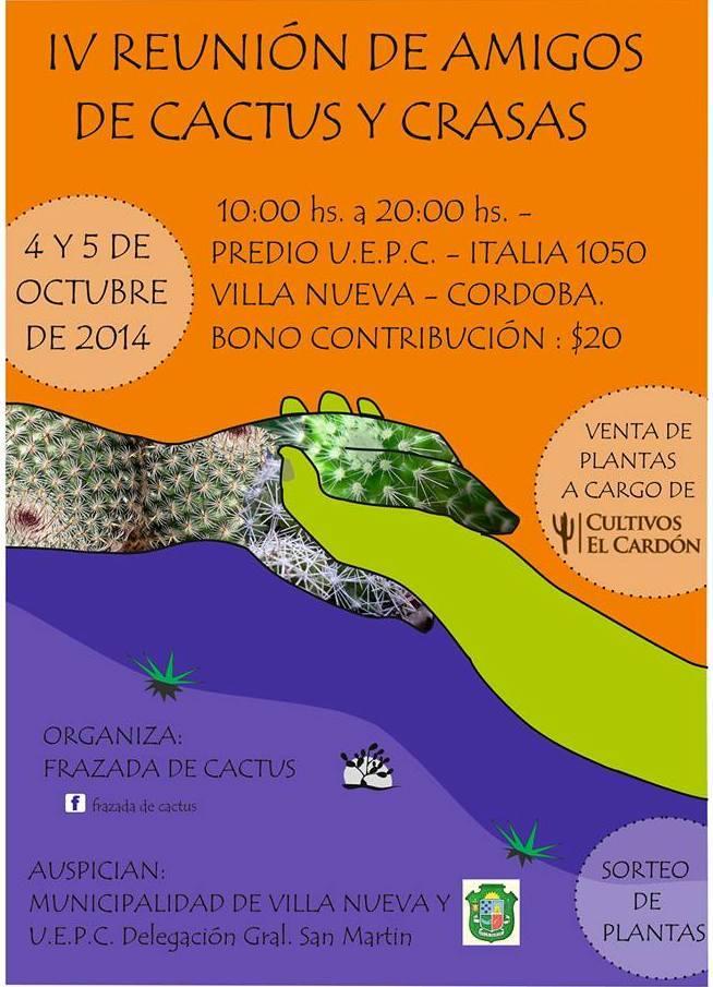 afiche expo Villa nueva